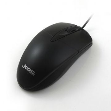 Jedel (CP72) Wired Optical Mouse, 1000 DPI